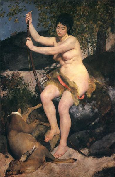 Diana, 1867 - Pierre-Auguste Renoir