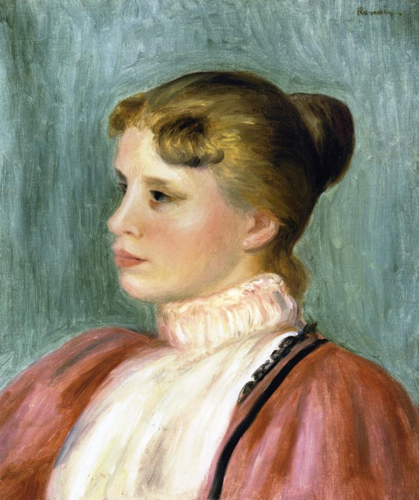 Portrait of a Woman - Pierre-Auguste Renoir - WikiArt.org ...