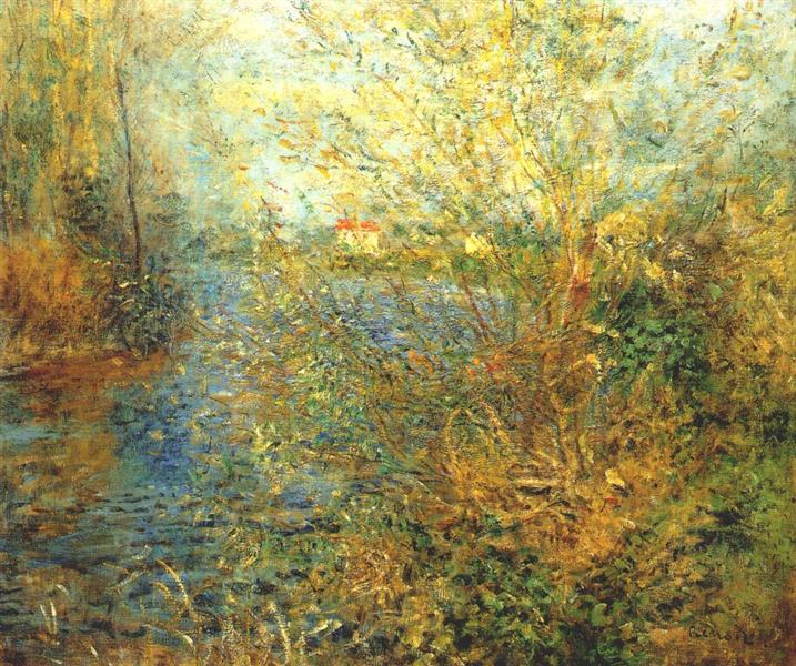 The Seine at Argenteuil, c.1875 - Pierre-Auguste Renoir