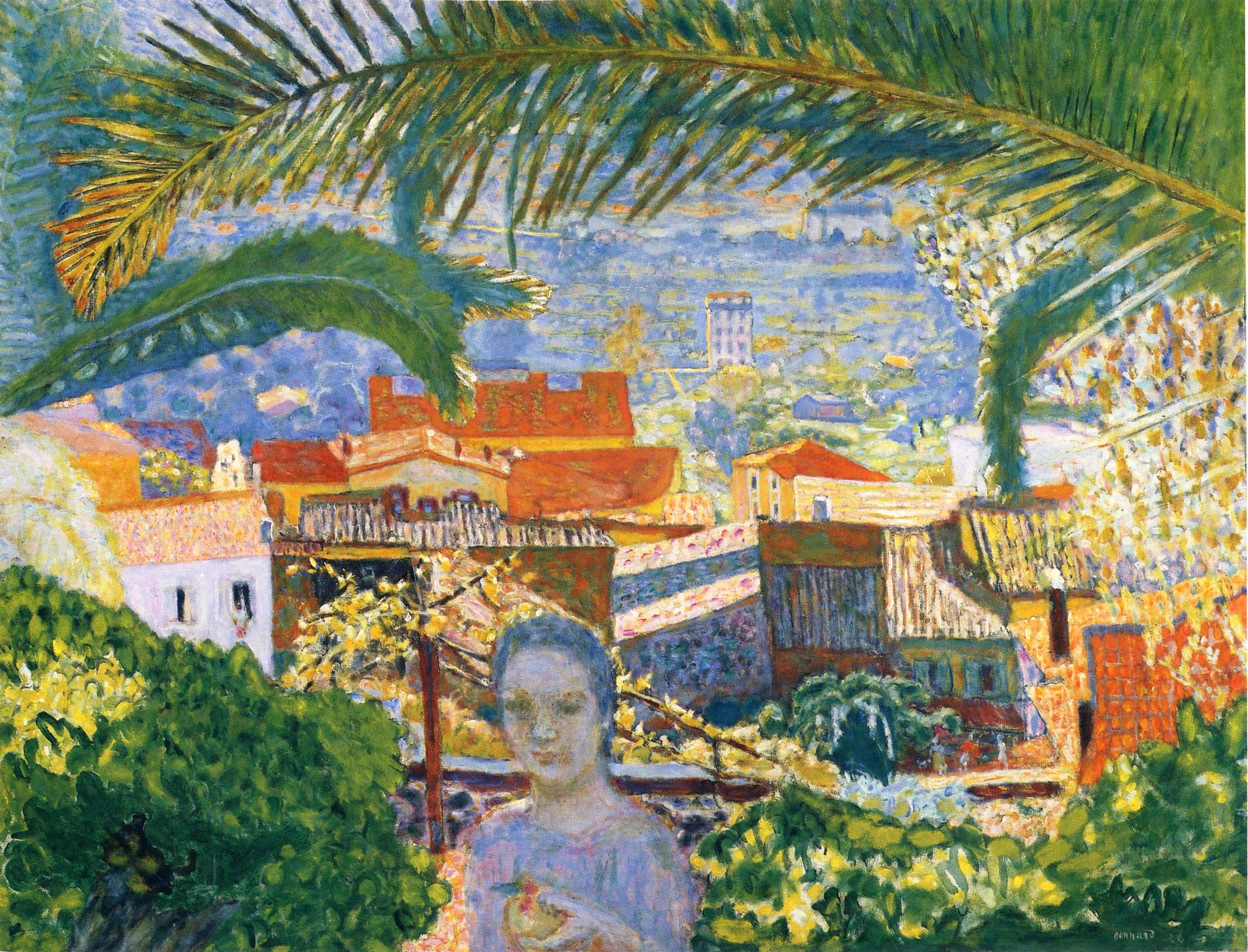 the palm, 1926 - pierre bonnard - wikiart