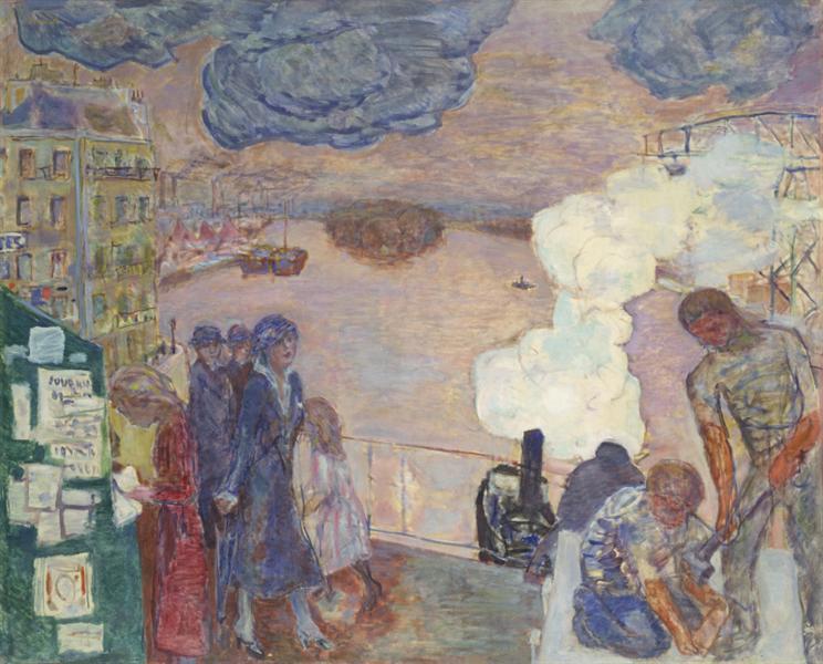 Workers - Pierre Bonnard