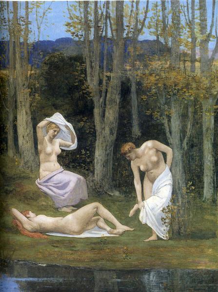 Summer, 1891 - Pierre Puvis de Chavannes