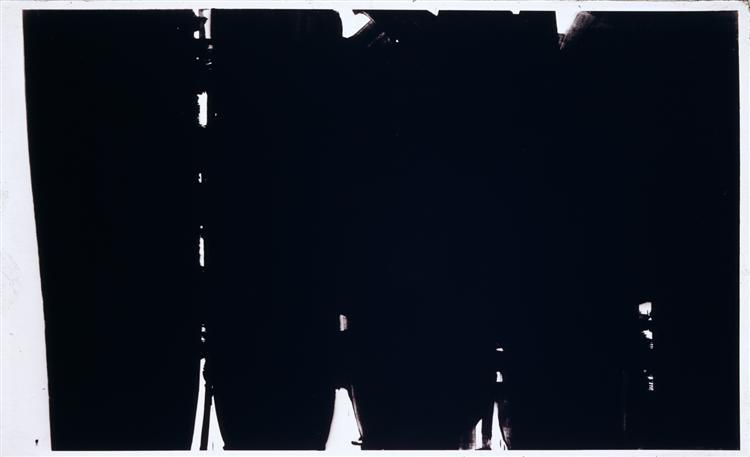 Peinture 220 x 366 cm, 14 mai 1968, 1968 - Pierre Soulages