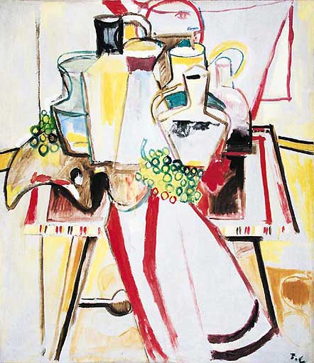 Nature morte sur la table, 1944 - Пьер Таль-Коат