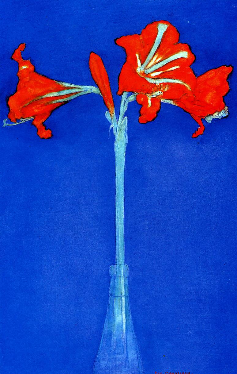 1910, Piet Mondrian, Amaryllis