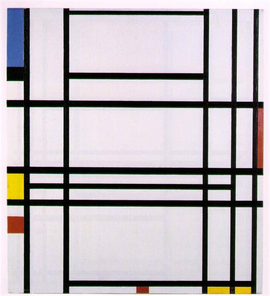 Composition No.10 - Piet Mondrian