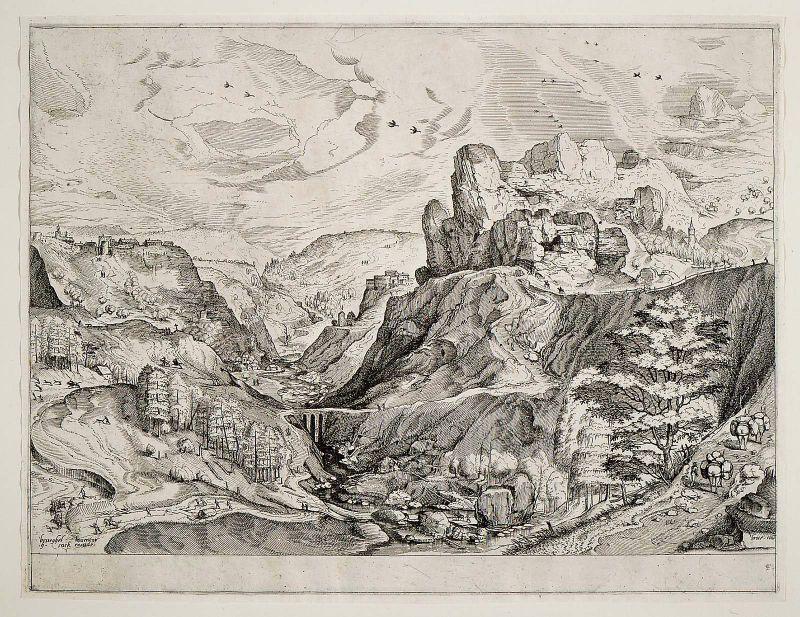 Alpine Landscape, 1555-1556