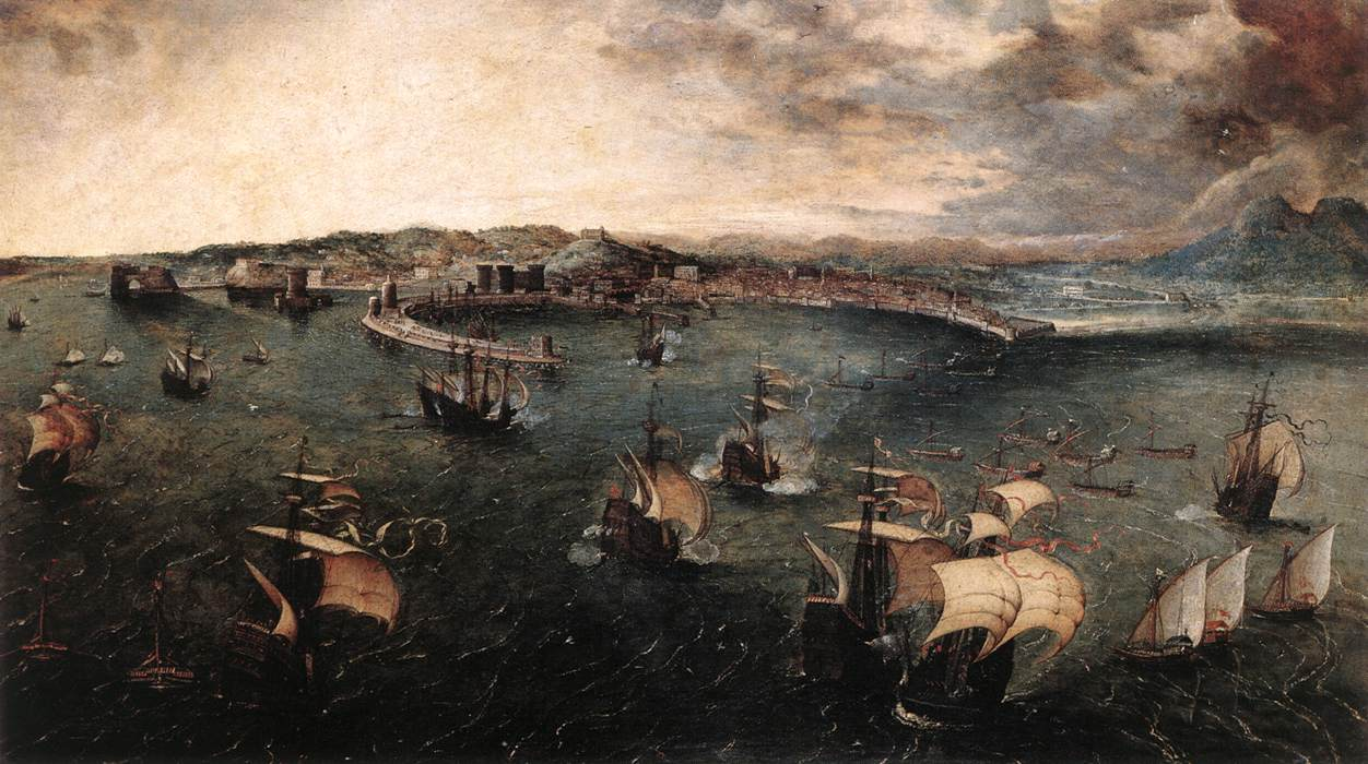 Naval battle in the Gulf of Naples, 1558-1562