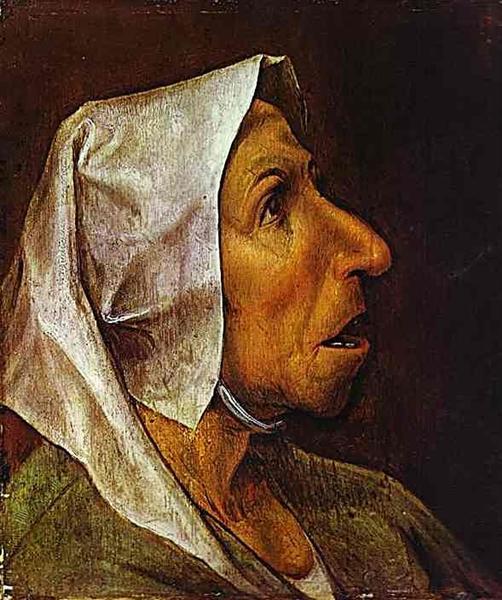 Portrait of an Old Woman, 1563 - Pieter Bruegel the Elder