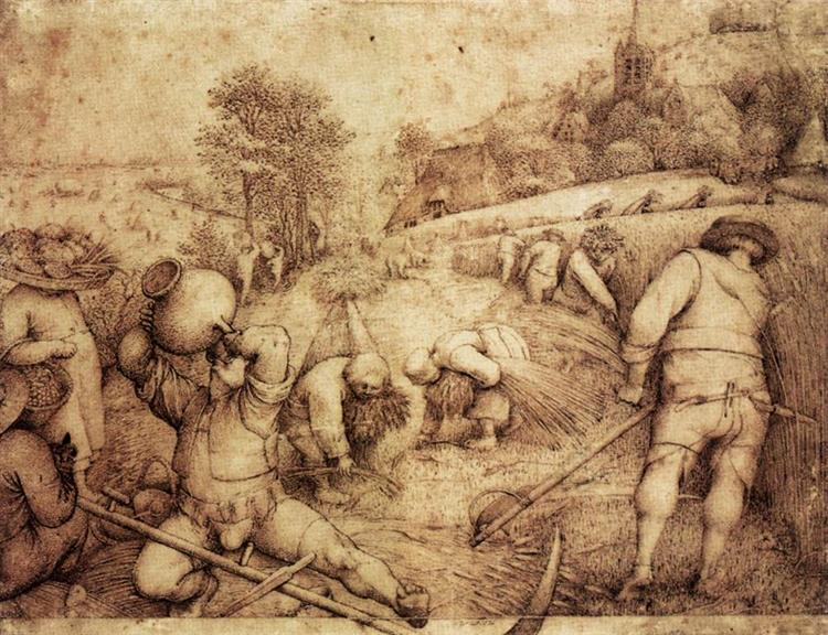 Summer, 1568 - Pieter Bruegel the Elder