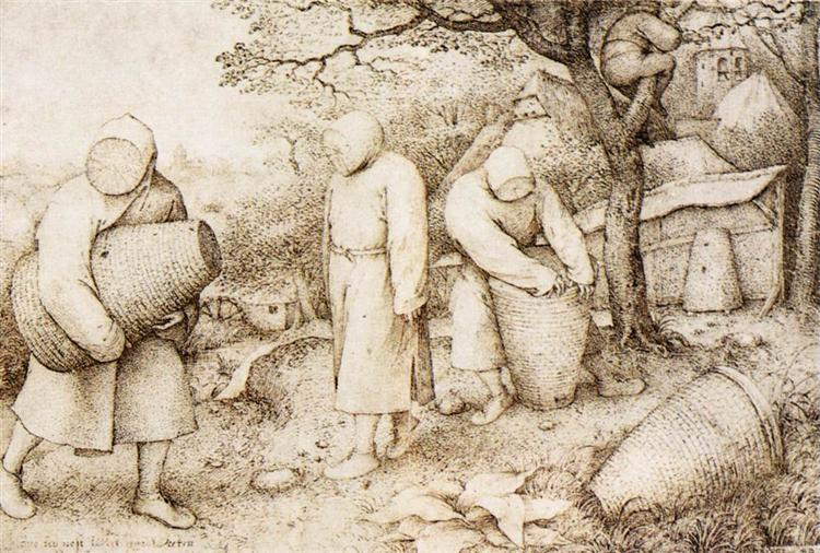 Pieter Bruegel the Elder - The Beekeepers and the Birdnester, 1568