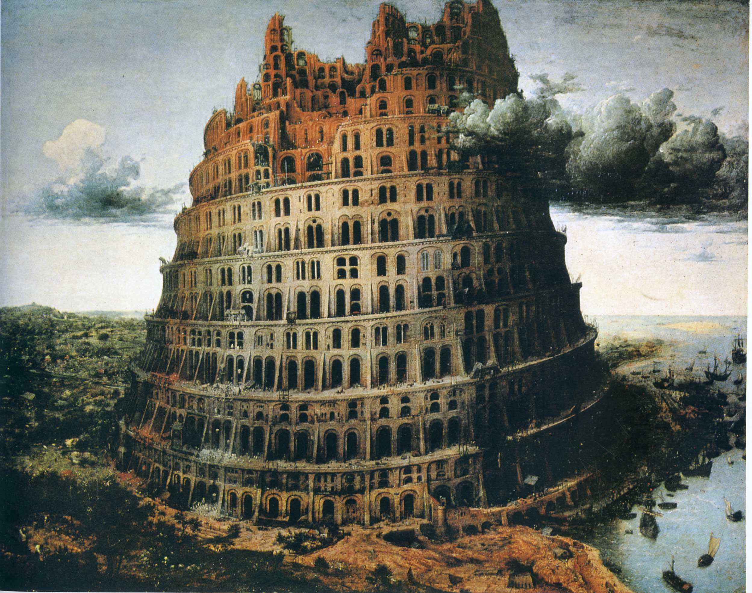"""The """"Little"""" Tower of Babel, 1563"""