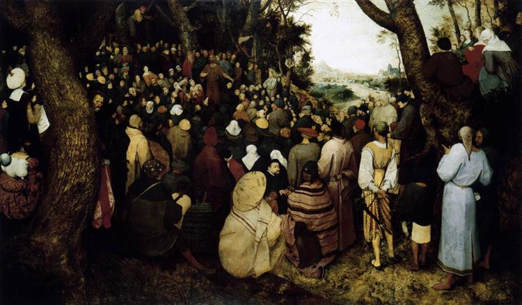 The Sermon of St. John the Baptist, 1566 - Pieter Bruegel the Elder