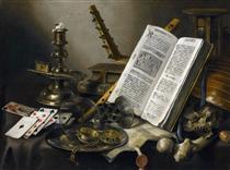 Vanitas. Still Life - Pieter Claesz