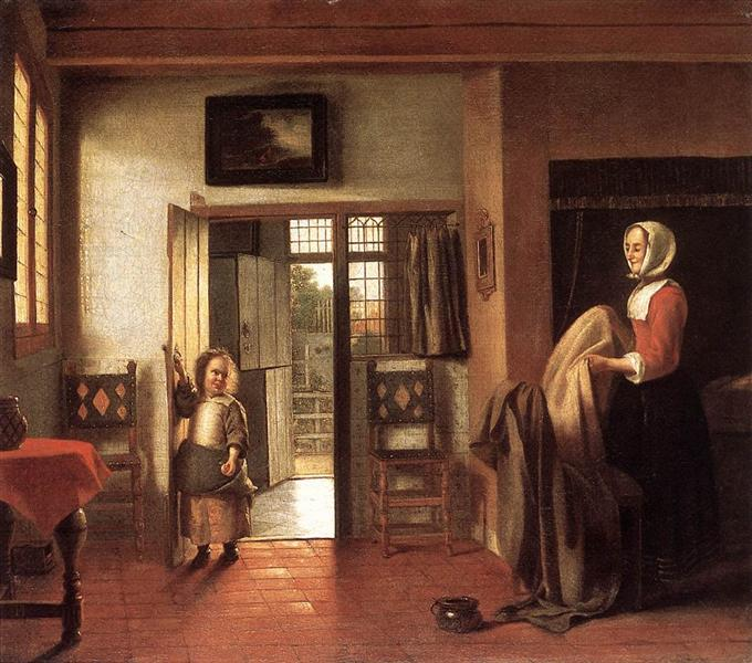 The Bedroom, c.1659 - Pieter de Hooch