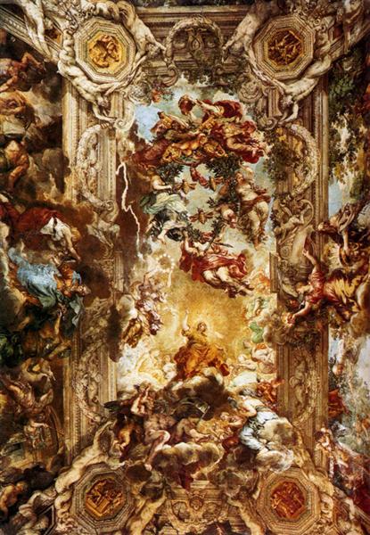Allegory of Divine Providence and Barberini Power, 1633 - 1639 - Pietro da Cortona