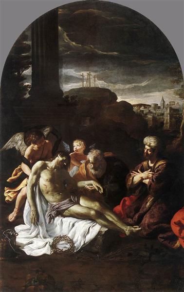 Pietà, 1620 - 1625 - Pietro da Cortona