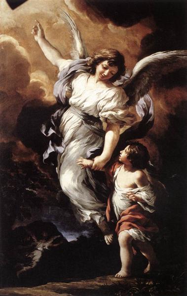 The Guardian Angel, 1656 - Pietro da Cortona