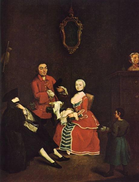 The Masked Visitor, 1760 - Pietro Longhi