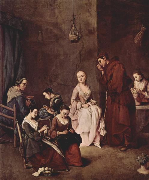 The Temptation - Pietro Longhi