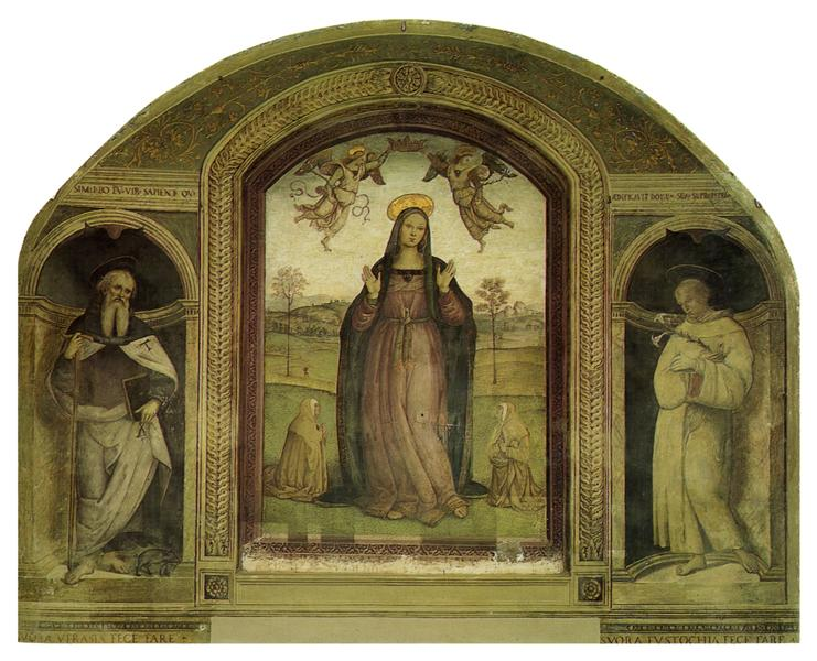 Madonna delle Grazie, 1522 - Le Pérugin