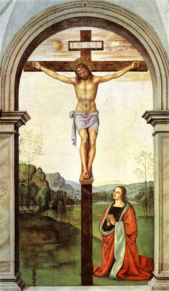 The Crucifixion - Pietro Perugino