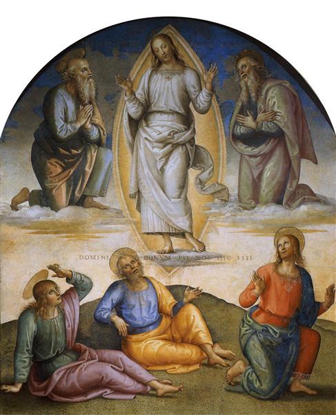 Transfiguration, 1496 - 1500 - Pietro Perugino