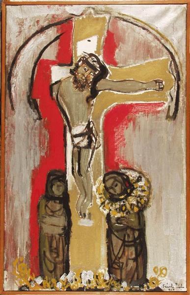 Hungarian Christ, 1968 - Piroska Szanto