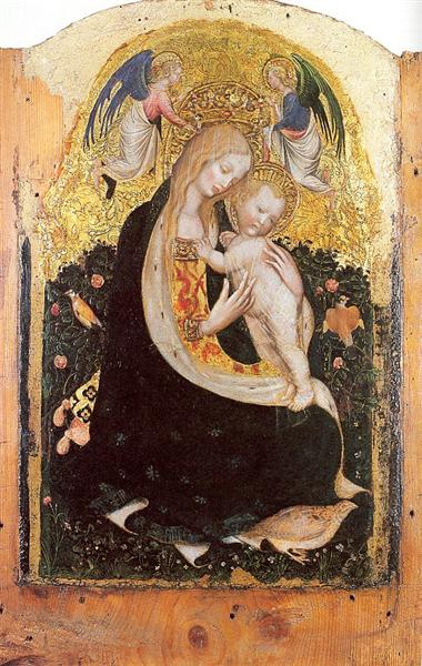 Madonna and Quail - Pisanello