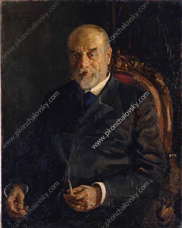 Portrait of Dolgintsev, 1895