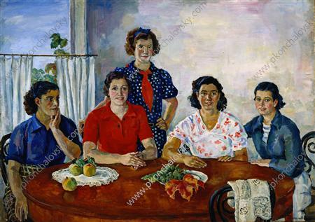 Spanish women, 1937