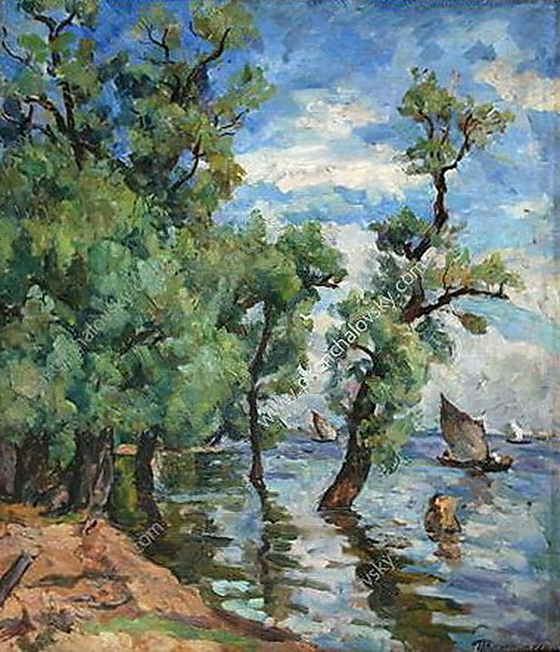 Willows on the Volkhov, 1926