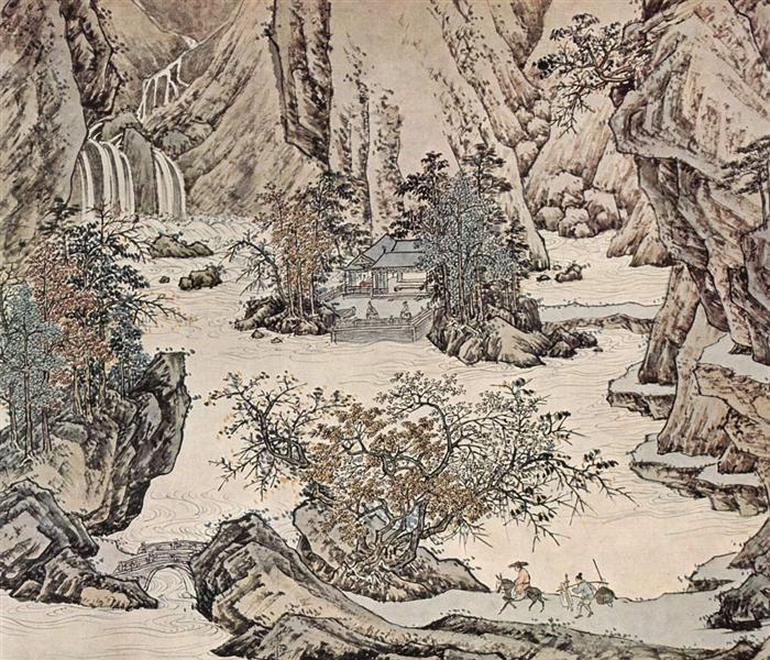 Landscape - Qiu Ying