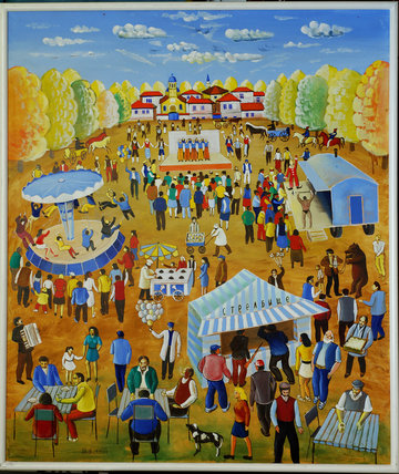 The Fair from my Childhood, 1999 - Radi Nedelchev