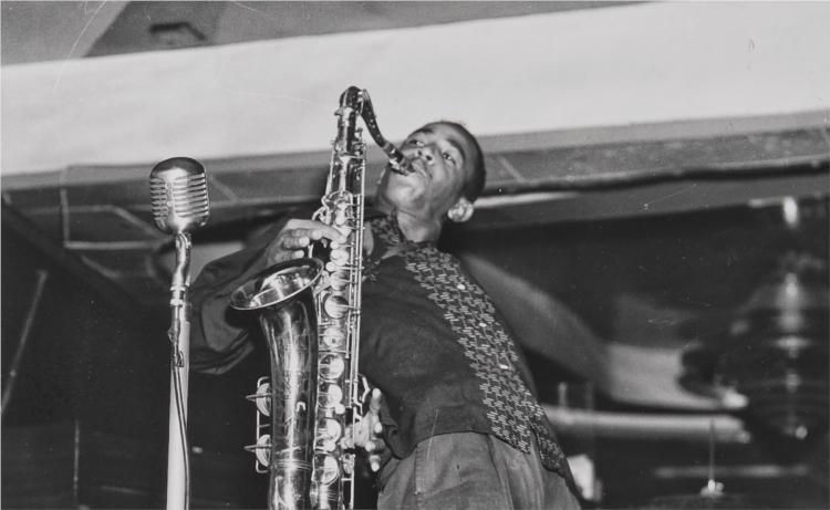 Saxofonist - Ralston Crawford