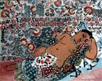Indian woman - Raoul Dufy