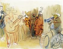 The Mexican Orchestra - Raoul Dufy