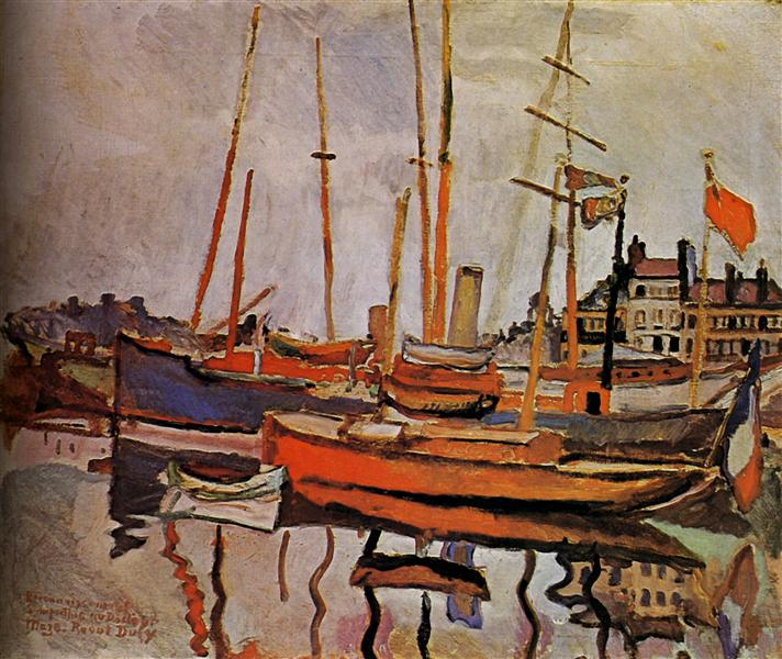 The Port of Le Havre, 1906 - Raoul Dufy