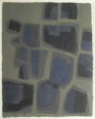 Composition Abstraite, 1959 - Raoul Ubac