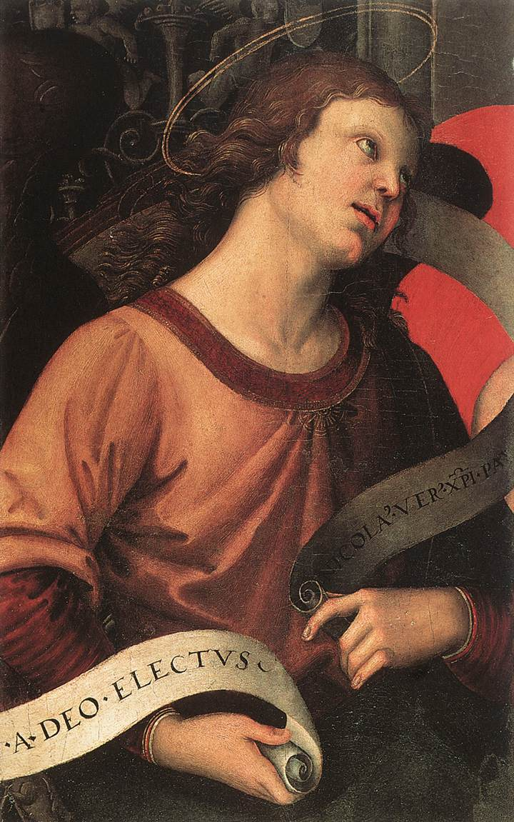 Angel, from the polyptych of St. Nicolas of Tolentino, 1501
