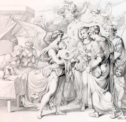 Birth on Good Friday - Raphael