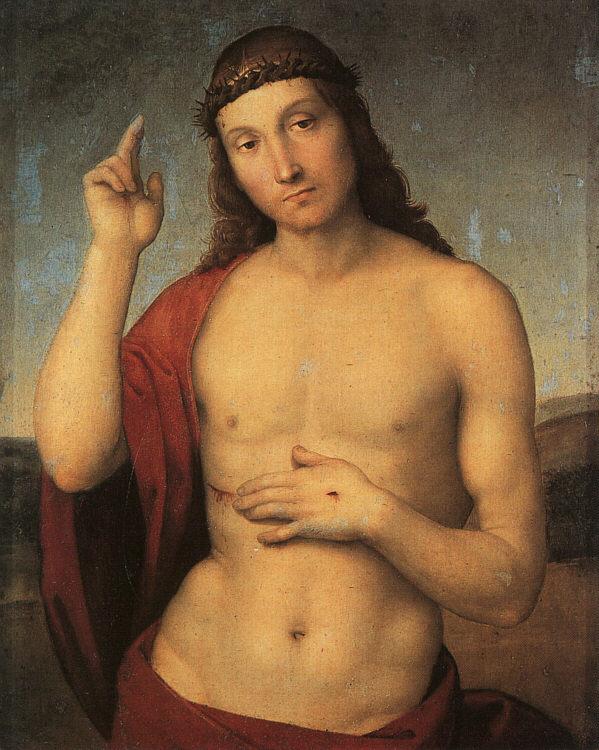 Christ Blessing, 1502