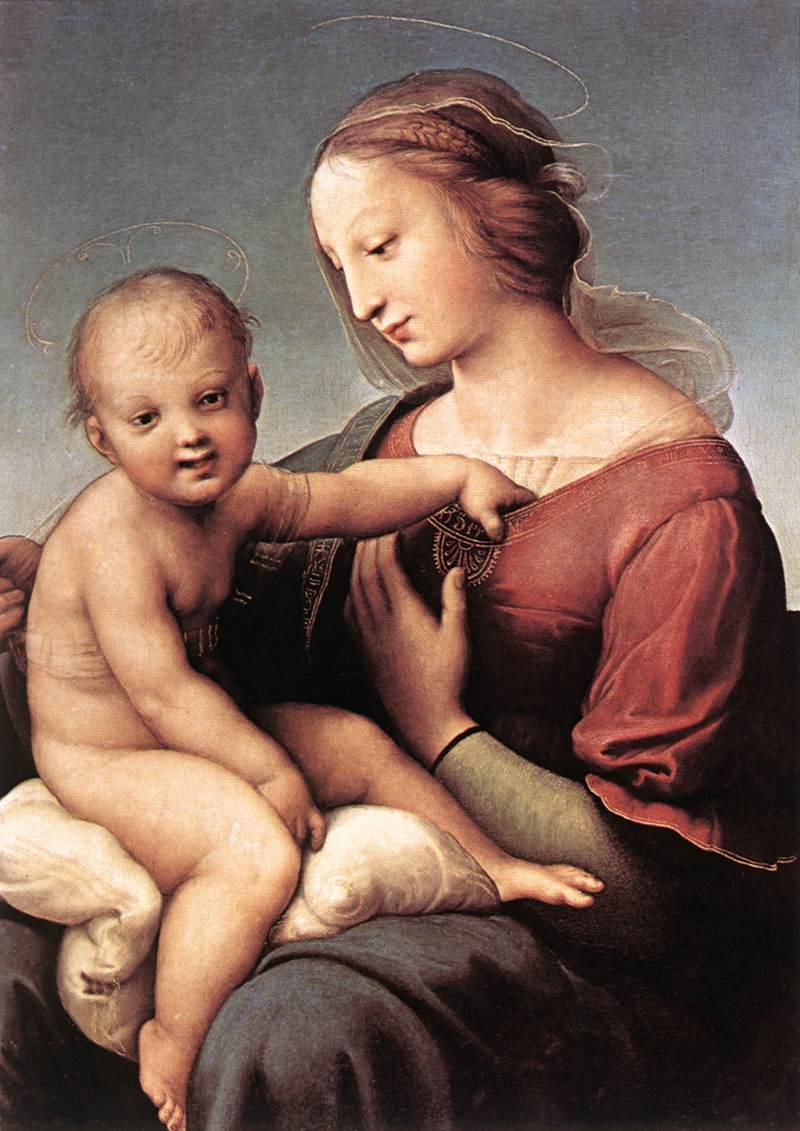 Niccolini-Cowper Madonna, 1508