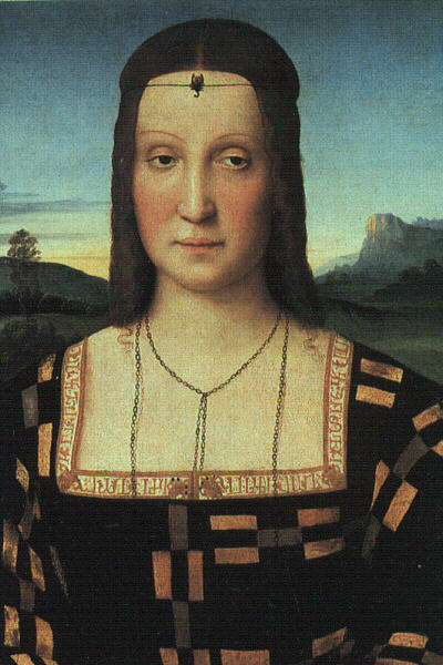 Portrait of Elizabeth Gonzaga, 1504