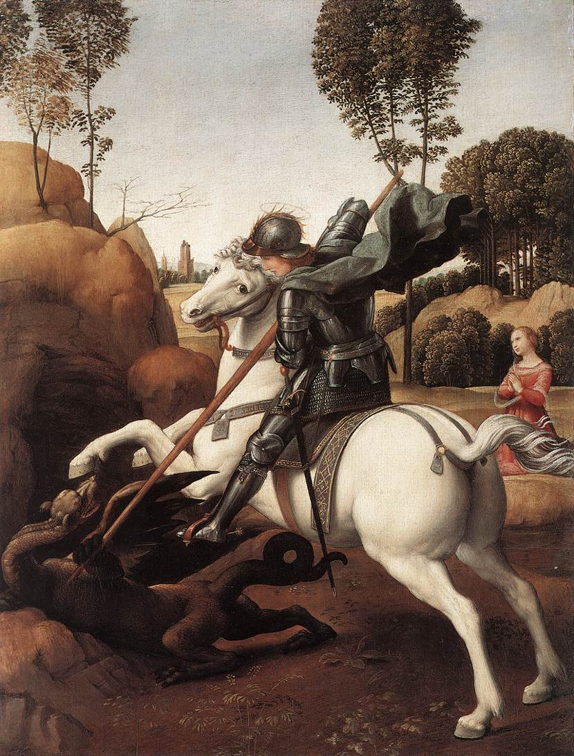St. George and the Dragon, 1505-1506