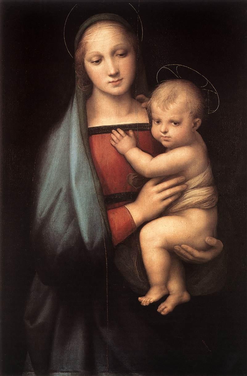 The Grand Duke's Madonna, 1504-1505