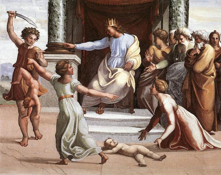 The Judgment of Solomon - Raphael