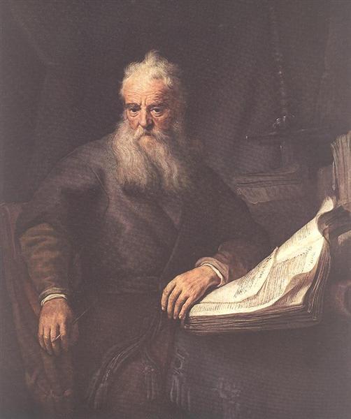 Apostle Paul, 1635 - Rembrandt