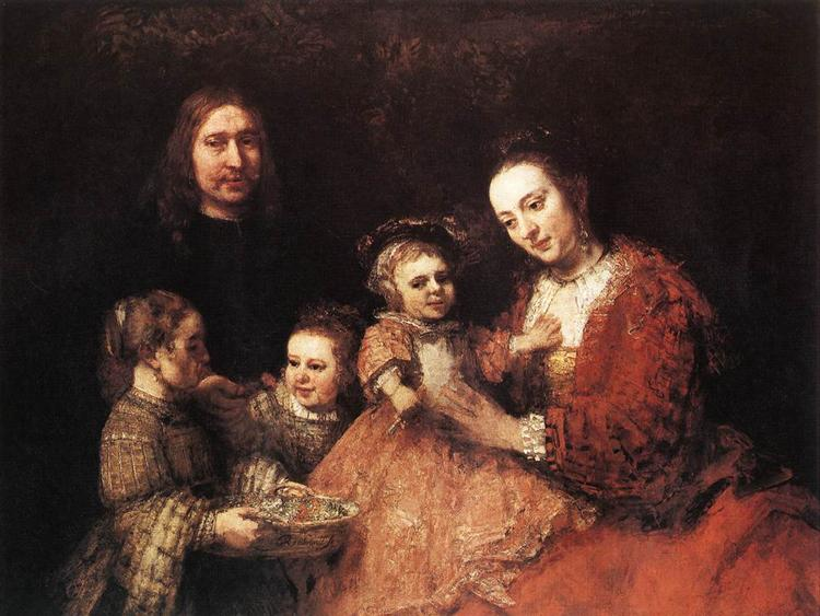 Family Group, 1666 - 1668 - Rembrandt