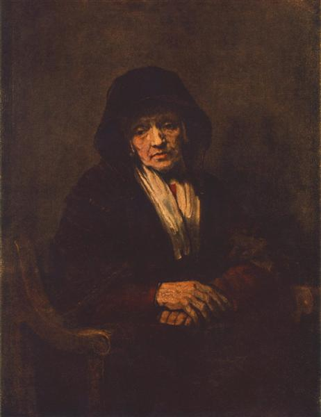 Portrait of an old Woman, 1654 - Rembrandt